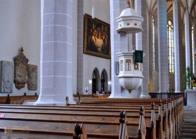 evangelischer Altarraum im Dom St. Petri zu Bautzen