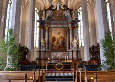 katholischer Hochaltar im Dom St. Petri zu Bautzen