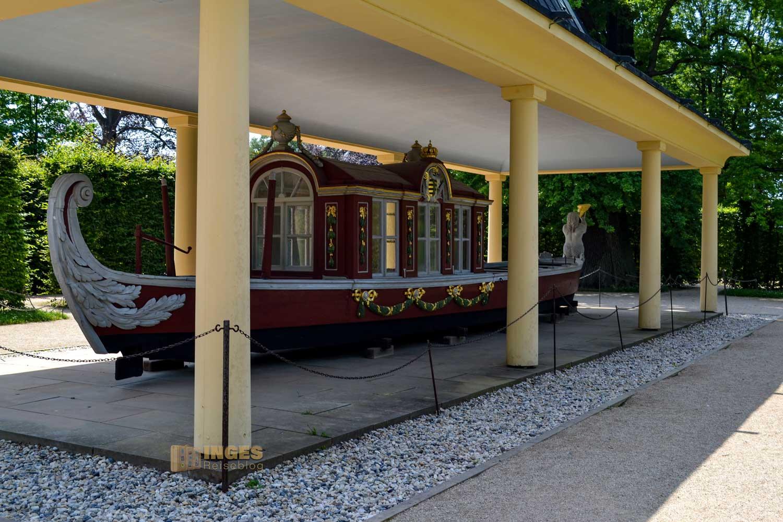 Tritonengondel Park Pillnitz