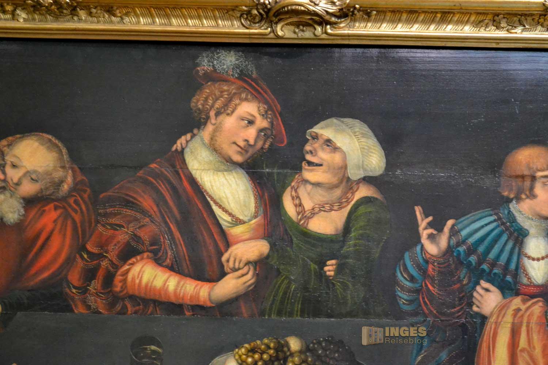 Gemäldegalerie Alte Meister im Zwinger in Dresden