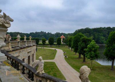 Terrassenanlage auf Schloss Moritzburg