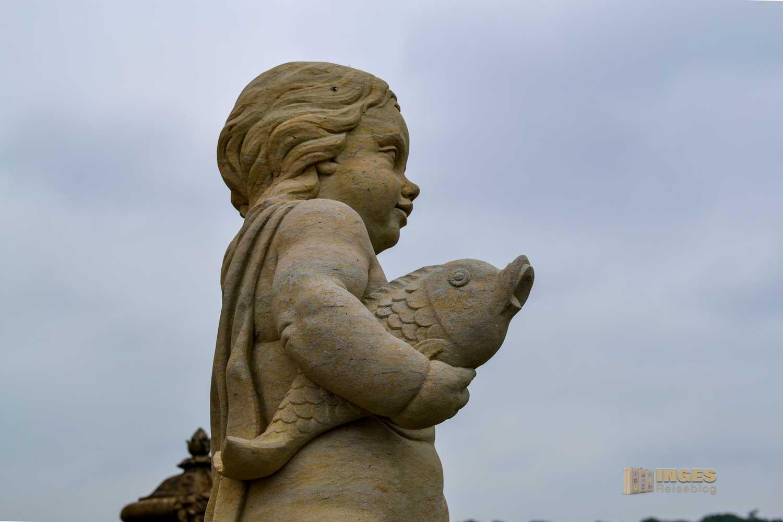 Skulpturenschmuck auf Schloss Moritzburg