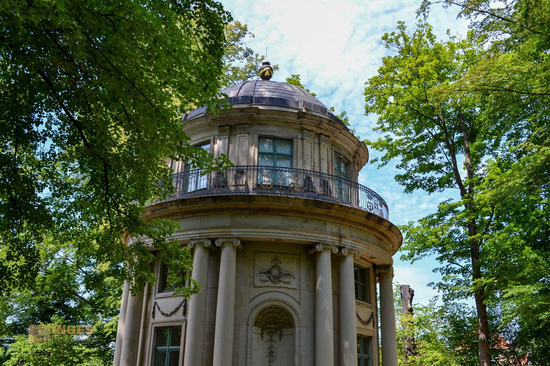 Englischer Pavillon Park Pillnitz