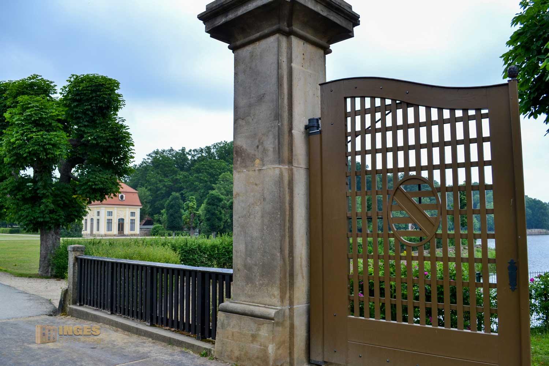 Schlosspark von Schloss Moritzburg