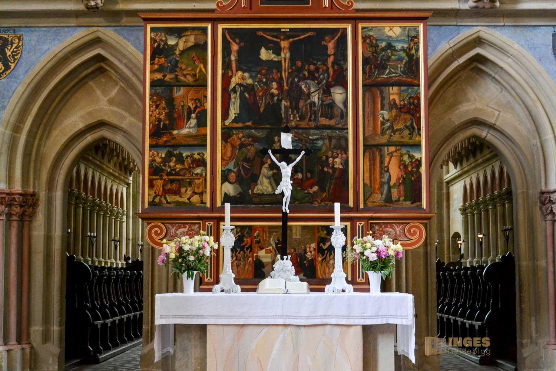 Altar am Lettner im Dom zu Meißen