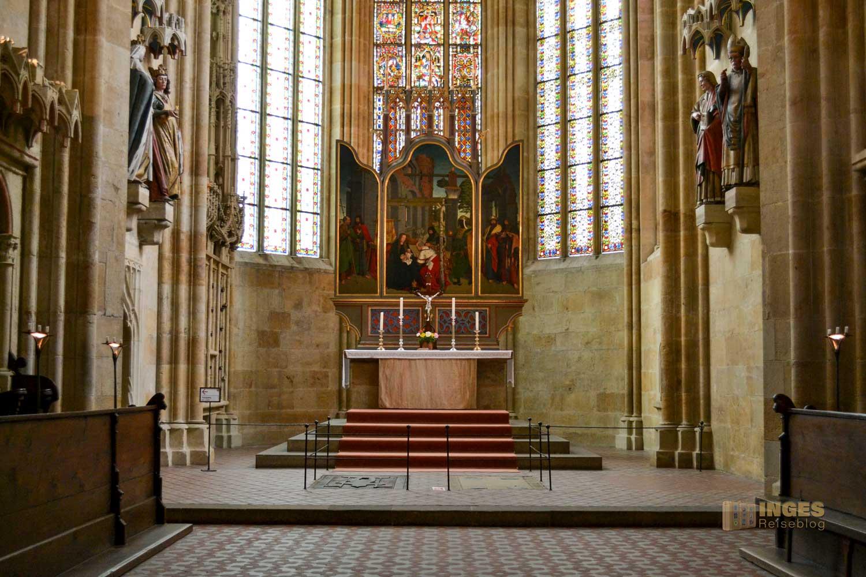 Der Hohe Chor im Dom zu Meißen