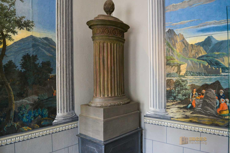 Innenräume auf Schloss Weesenstein