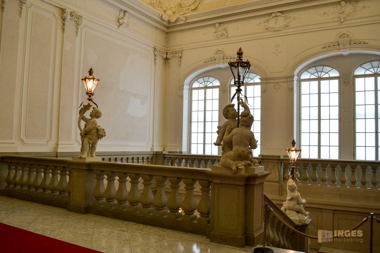 Treppenhaus Residenzschloss in Dresden