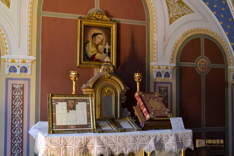 katholische Kapelle auf Schloss Weesenstein