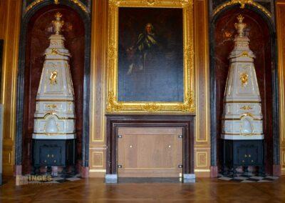 Vorzimmer im Residenzschloss in Dresden