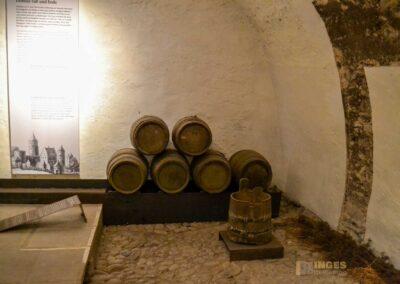 Kellergewölbe Schloss Weesenstein