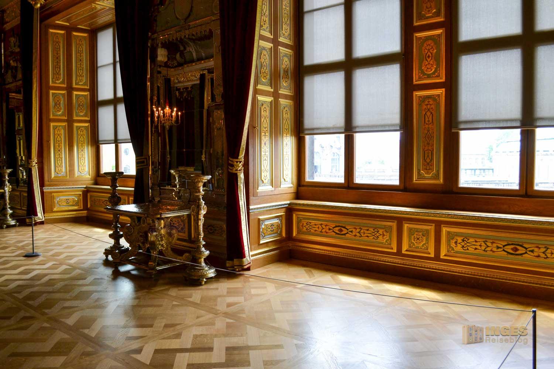 Audienzimmer im Residenzschloss in Dresden