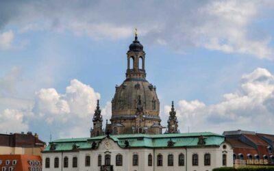 In der Frauenkirche in Dresden
