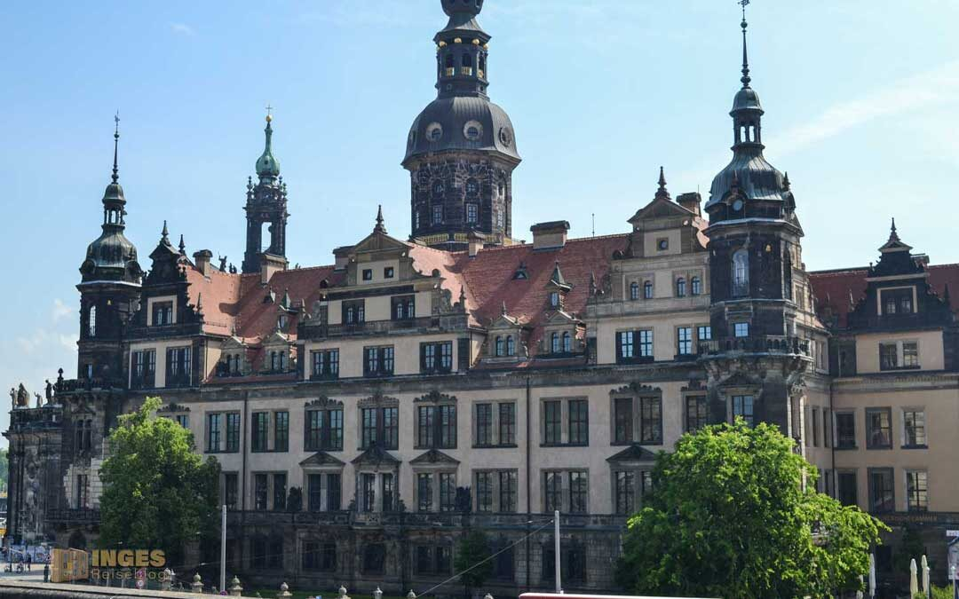 Das Residenzschloss in Dresden