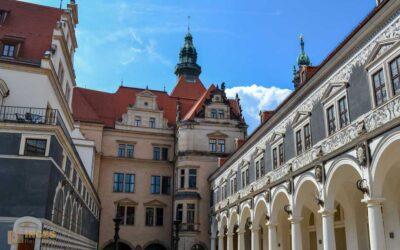 Der Stallhof des Dresdner Residenzschlosses