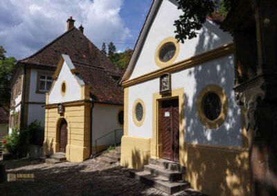 Muschelkapelle und Heilig-Grab-Kapelle St. Salvator Schwäbisch Gmünd