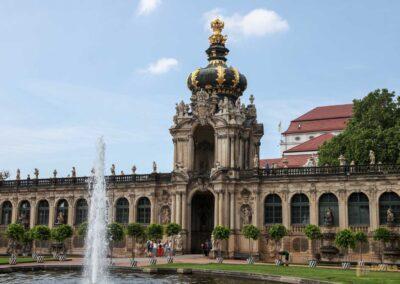 Kronentor Zwinger in Dresden