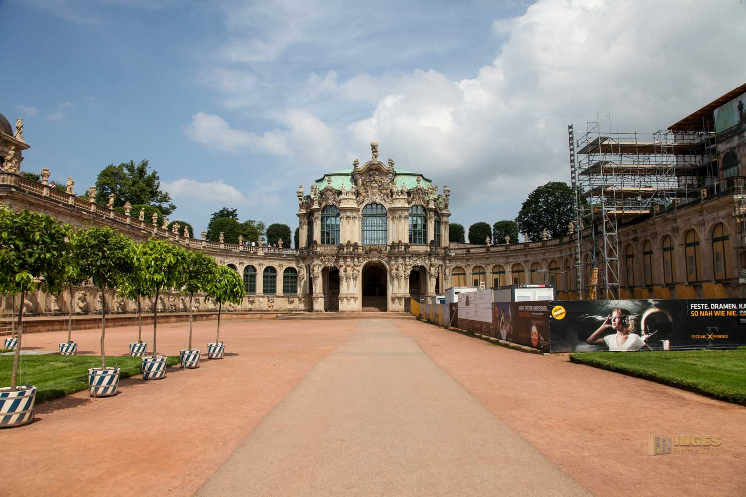 Wallpavillon Zwinger Dresden