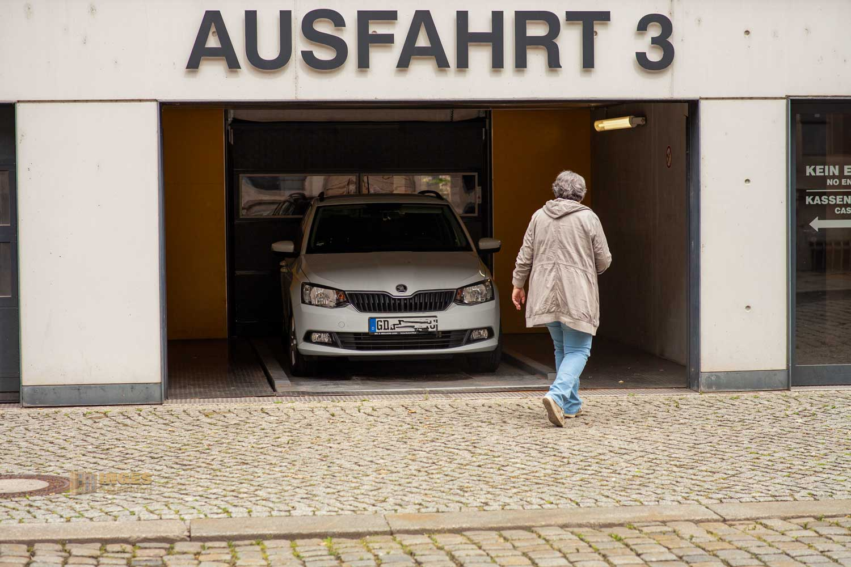 Inges Parkerlebnis Parkhaus Markthalle Neustadt Dresden