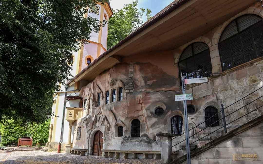Der Wallfahrtsort St. Salvator in Schwäbisch Gmünd