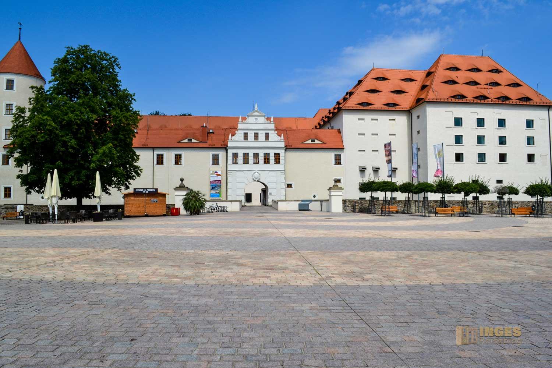 Schloss Freudenstein Silberstadt Freiberg