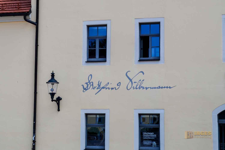 Silbermannhaus Silberstadt Freiberg
