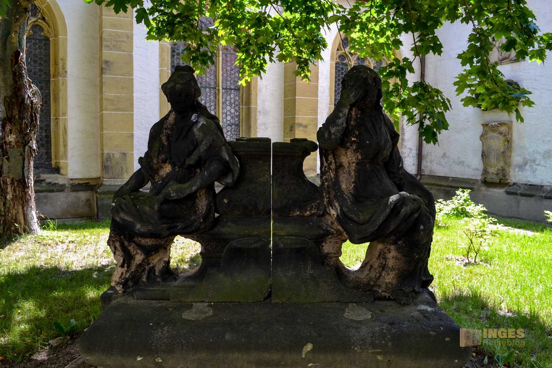 Grüner Friedhof Dom St. Marien zu Freiberg