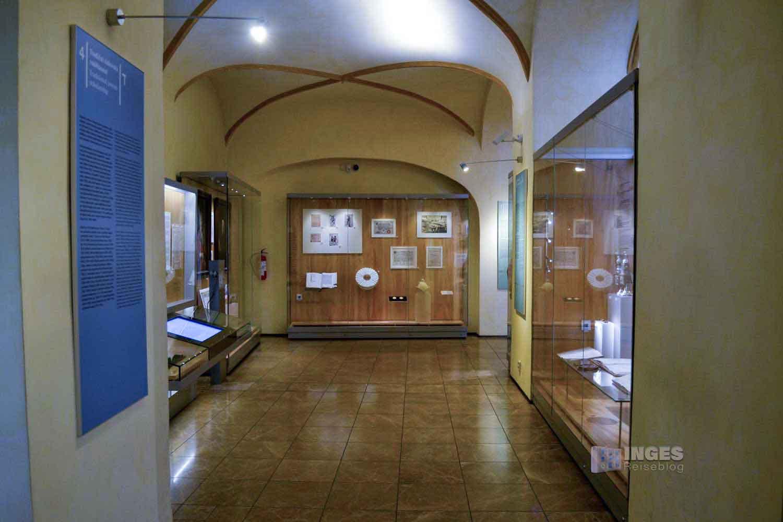 Das Jüdische Museum in der Maisel-Synagoge in Prag
