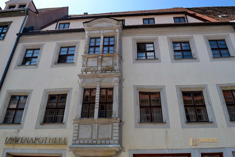 Burgstrasse Silberstadt Freiberg