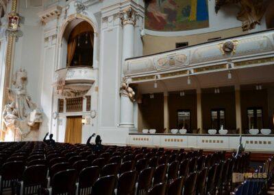 Der Smetana-Saal im Gemeindehaus in Prag