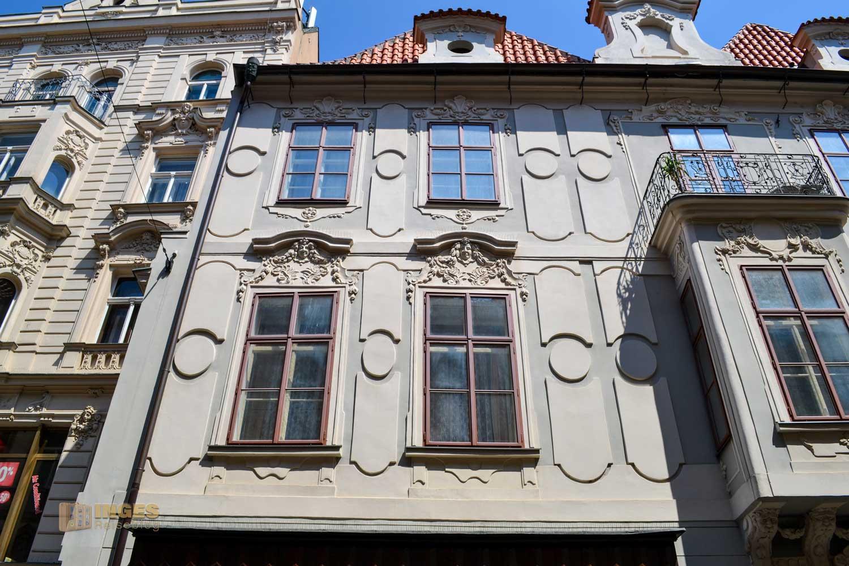 Zeltnergasse (Celetná) in Prag