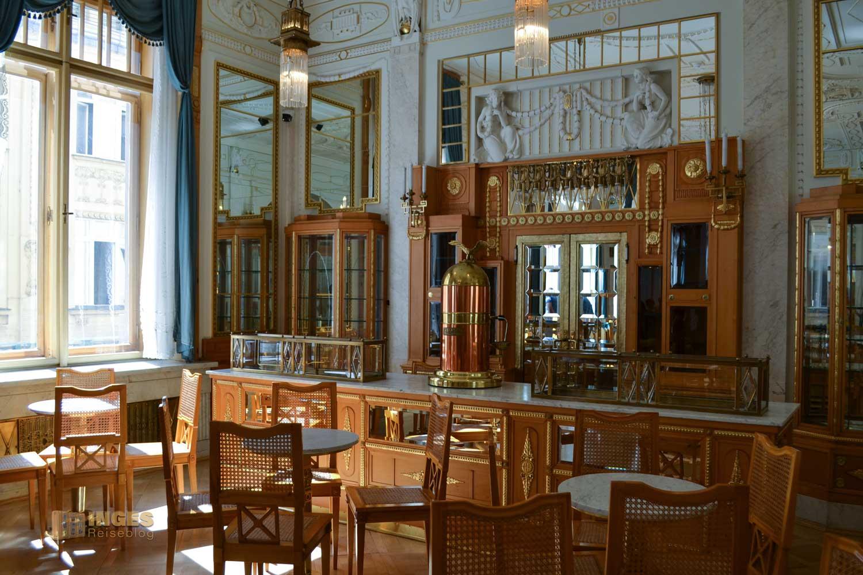Die Konditorei im Gemeindehaus in Prag