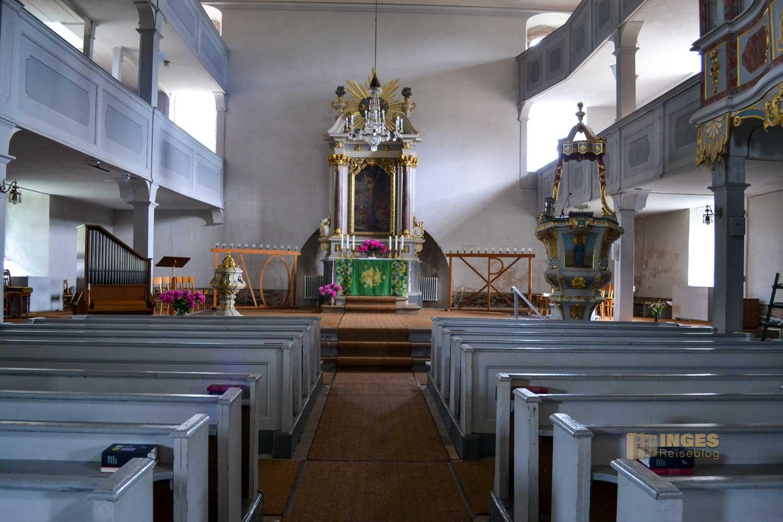 Barockkirche in Großhartmannsdorf