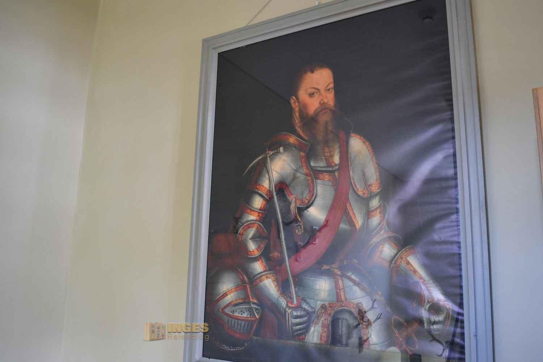 Kurfürst Moritz von Sachsen Schloss Wildeck