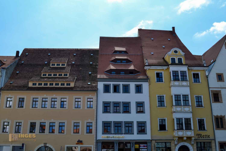 Obermarkt Silberstadt Freiberg