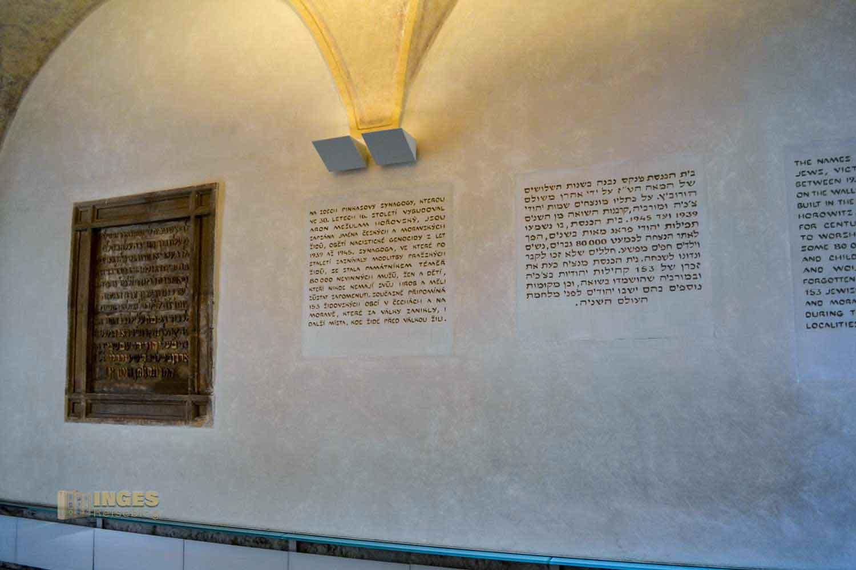 Pinkas-Synagoge in Prag