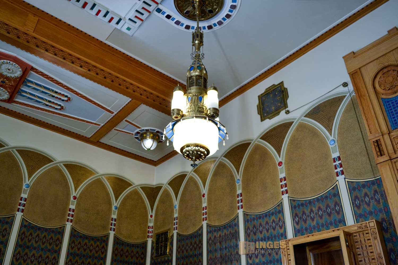 der Orientalische Salon im Prager Gemeindehaus