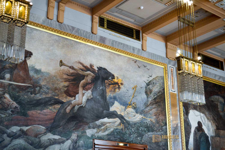 der Grégr-Saal im Prager Gemeindehaus
