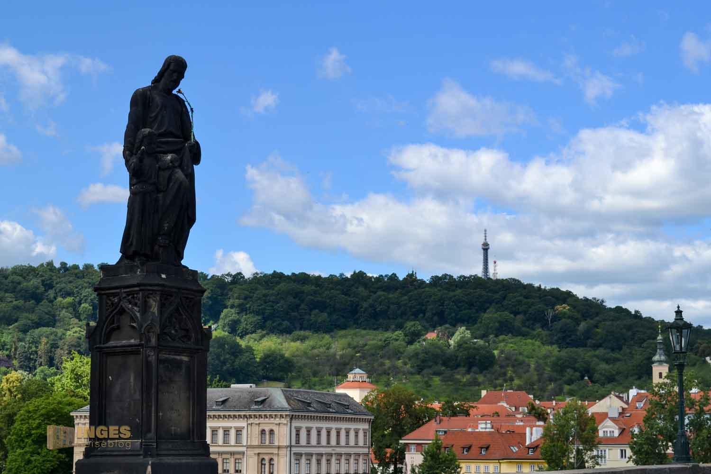 Der hl. Josef von Nazarth auf der Karlsbrücke
