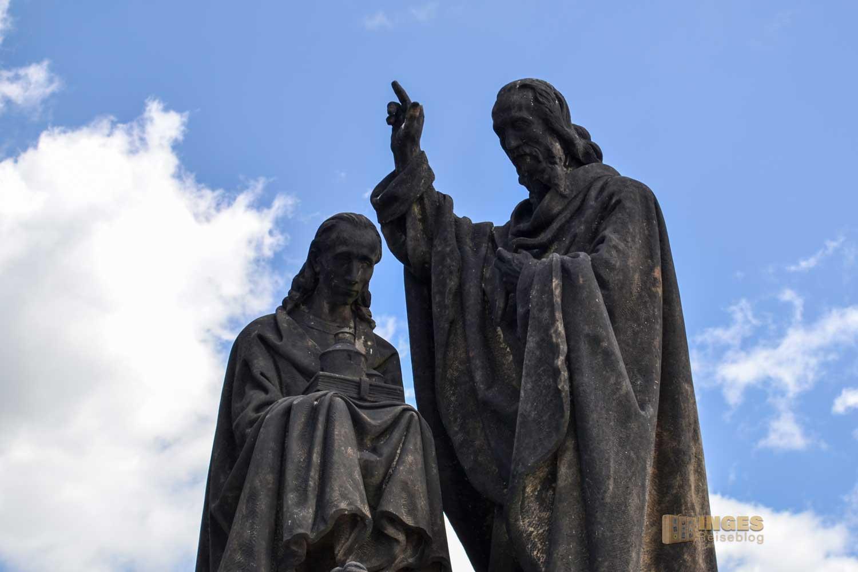 Die Heiligen Cyrill und Method auf der Karlsbrücke