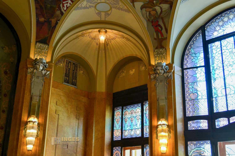 Der Oberbürgermeistersaal im Prager Gemeindehaus