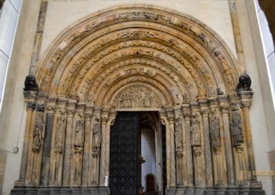 Portal Goldene Pforte Dom St. Marien zu Freiberg