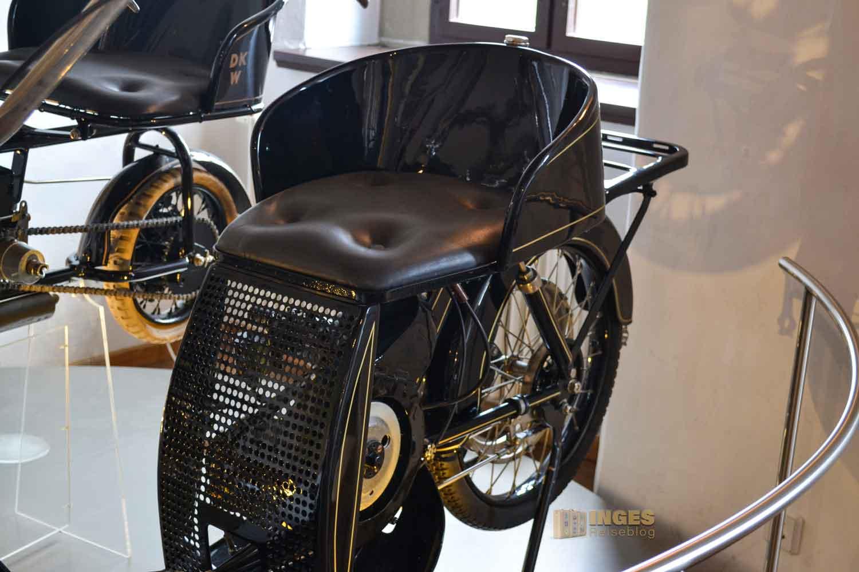 Motorradmuseum auf Schloss Wildeck in Zschopau