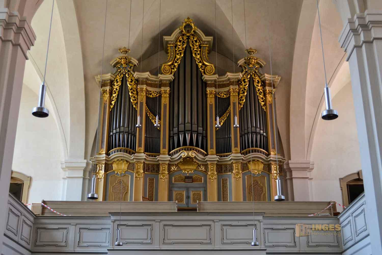 Silbermannorgel Petrikirche Silberstadt Freiberg