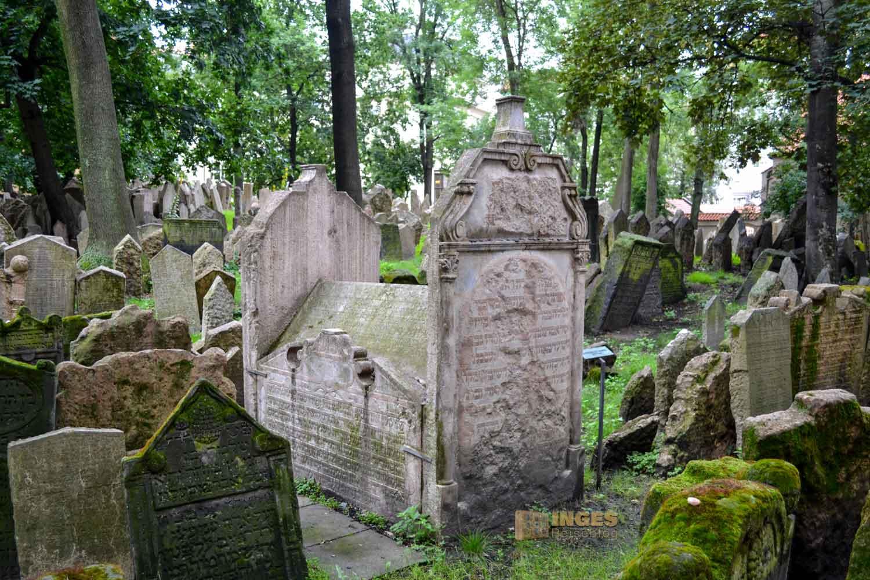 Grab des Begründers der Maisel-Synagoge in Prag