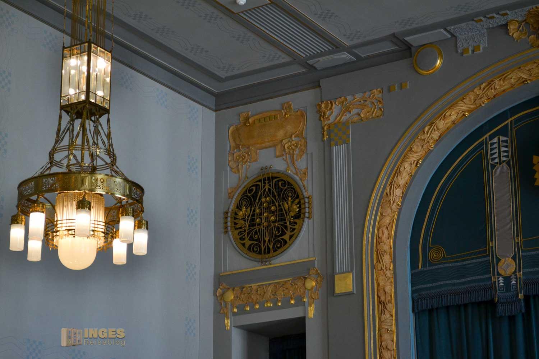 der Sladovský-Saal im Prager Gemeindehaus