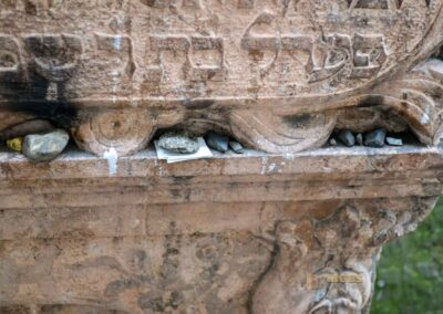 Grabmal Rabbi Löw auf dem alten jüdischen Friedhof in Prag