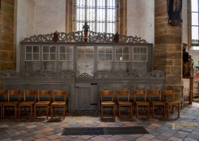 Knappschaftsgestühl im Dom St. Marien zu Freiberg