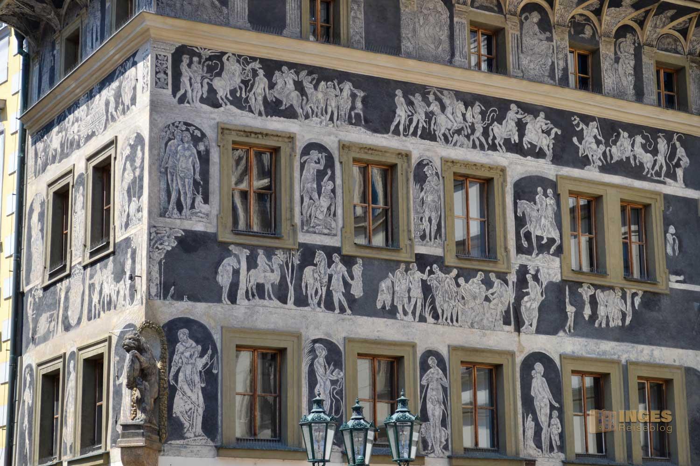 Haus zur Minute in der Prager Altstadt