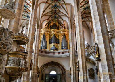 Große Silbermann-Orgel Dom St. Marien zu Freiberg
